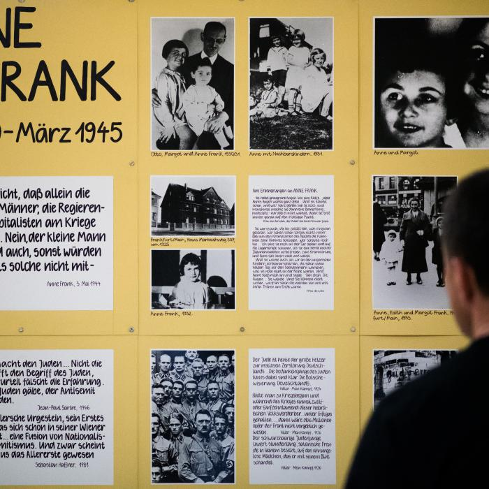 Exhibition opening Anne Frank